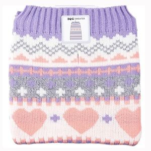 Other - Dog sweater hearts small NWT